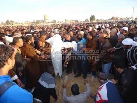 جنازة الدكتور أبو القاسم سعد الله