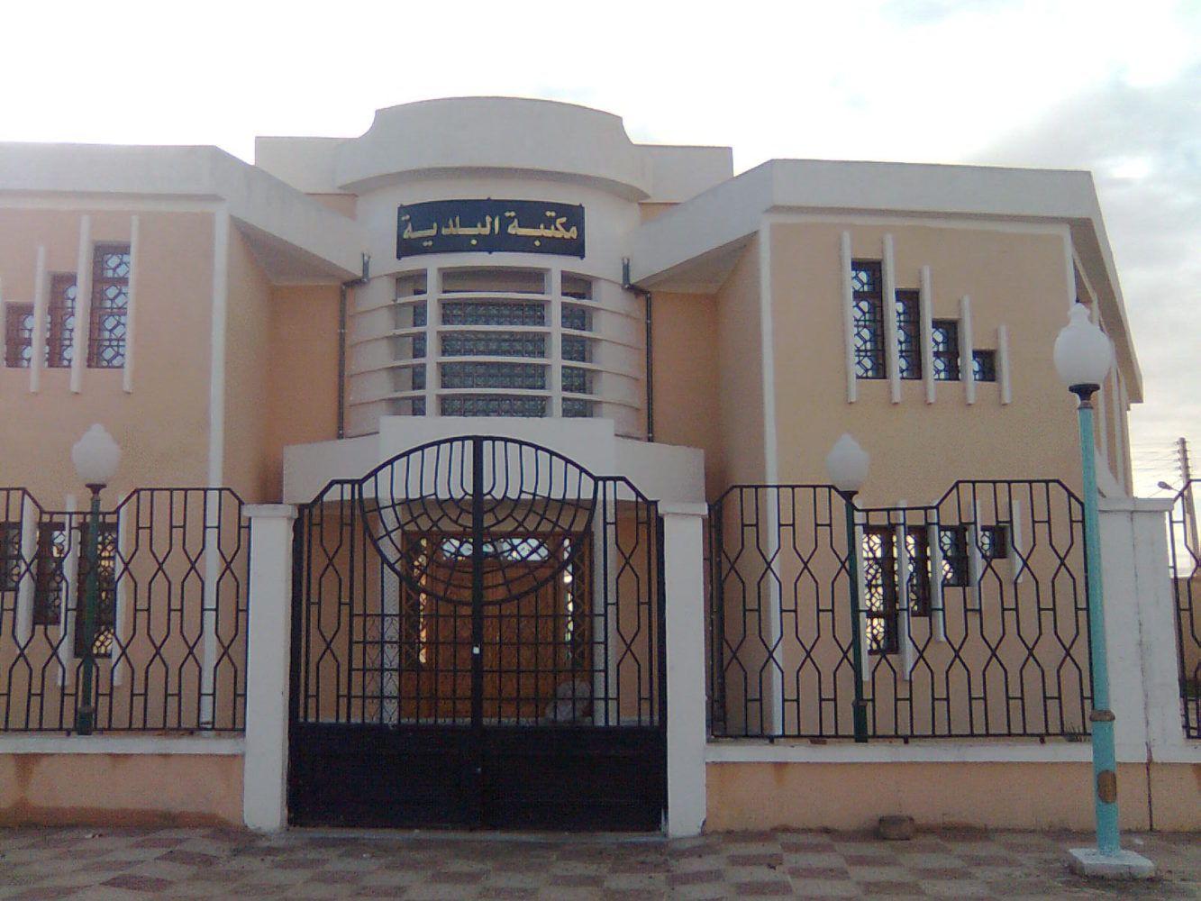 هياكل عموميّة و سياحية بمدينة قمار - المكتبة البلدية